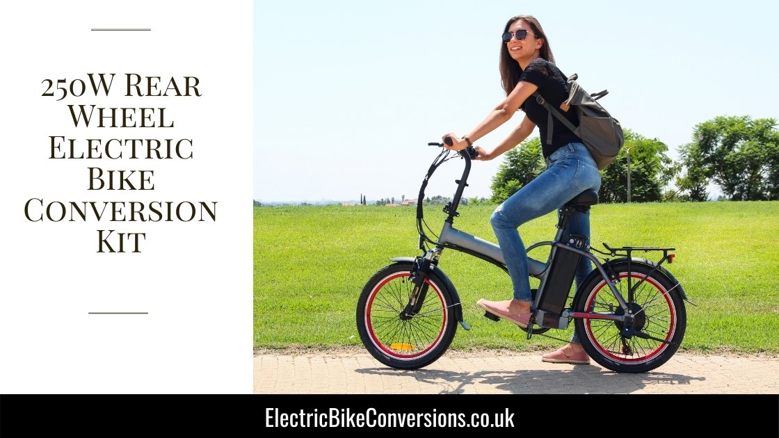 250W Rear Wheel Ebike Conversion Kit