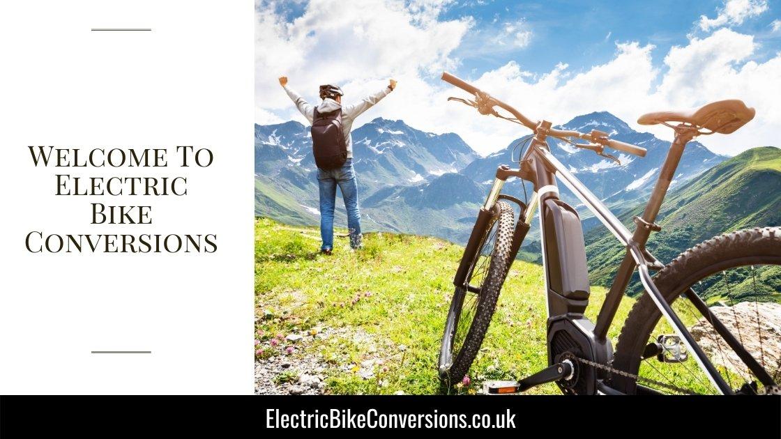 Electric Bike Conversions Home