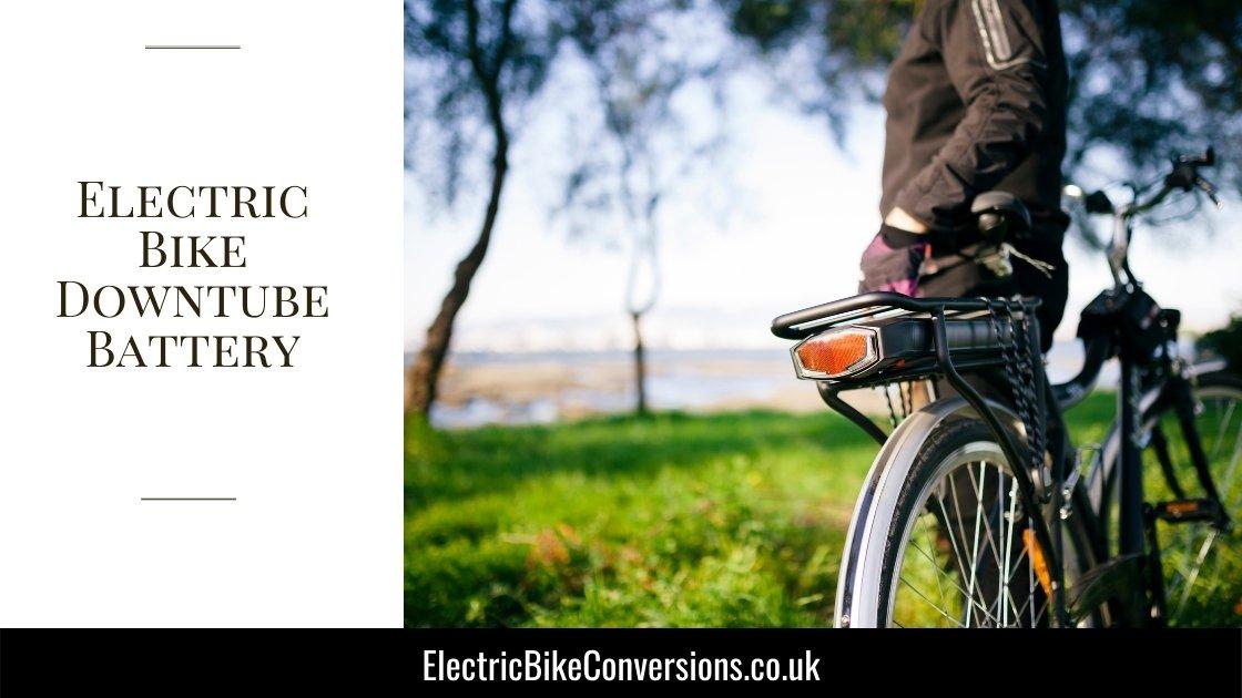 Electric Bike Downtube Battery