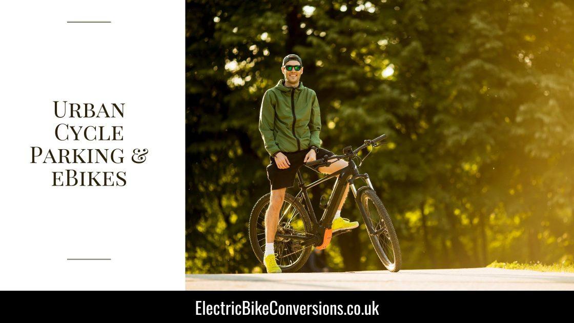 Urban cycle parking ebikes e1634037756998