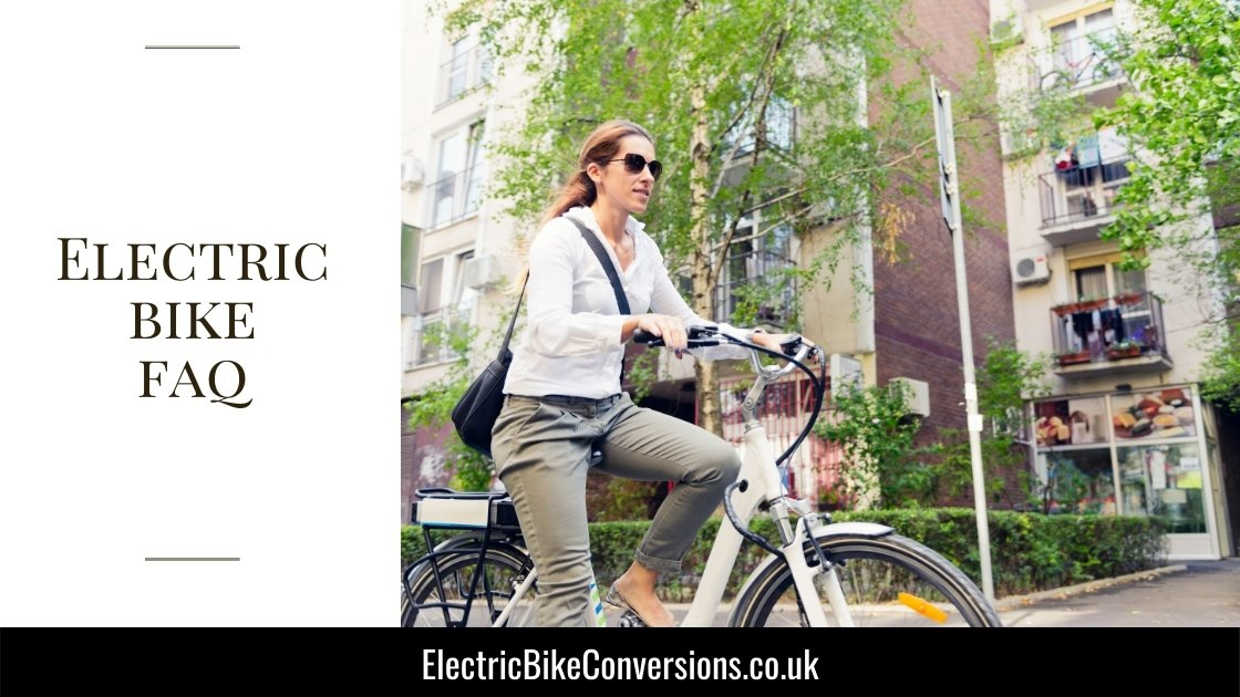 electric bike faq