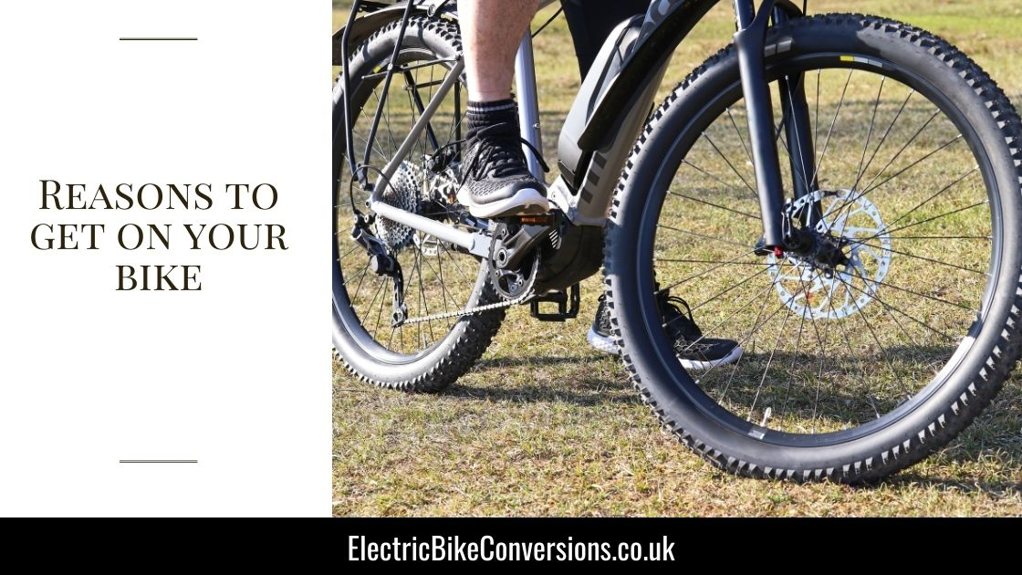 reasons why you should ride your bike