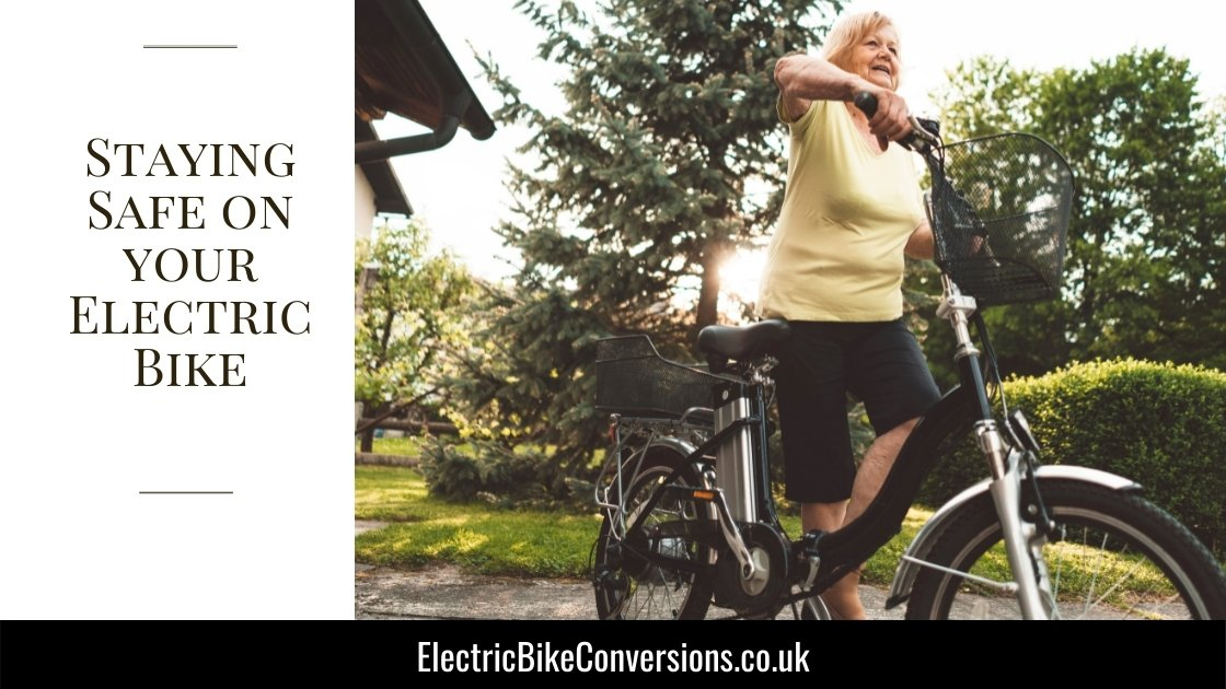ride safely on ebike
